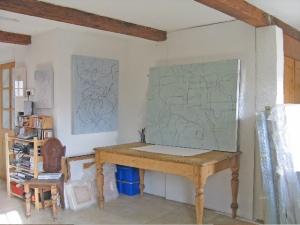 Fiona Robinson's studio