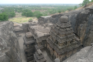 Khailassa Temple - 7th or 8th century - worlds largest carving - Ellora