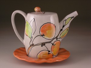 Cherry Teapot - Wynne Wilbur